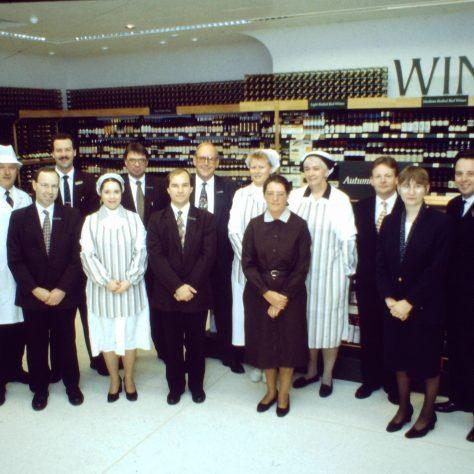 Wokingham management team 1996   John Lewis Partnership archives